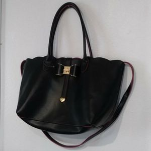 Betsey Johnson large purse tote